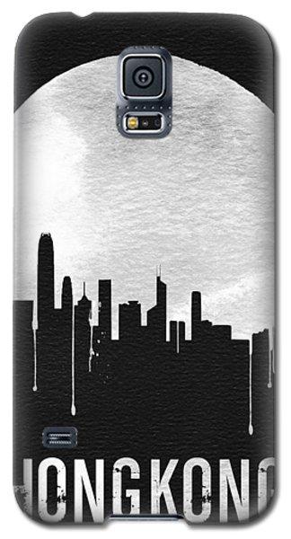 Hong Kong Skyline Black Galaxy S5 Case by Naxart Studio
