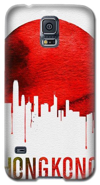 Hong Kong Skyline Red Galaxy S5 Case