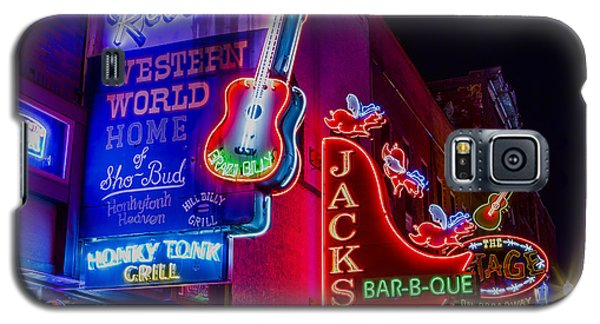 Honky Tonk Broadway Galaxy S5 Case by Stephen Stookey