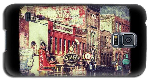 Honky Tonk Row - Nashville Galaxy S5 Case