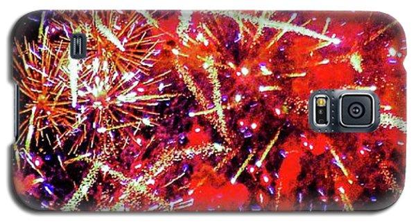 Honolulu Fireworks Galaxy S5 Case