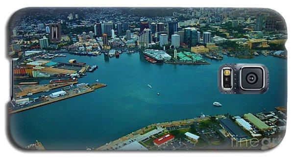Honolulu Waterfront At Dawn Galaxy S5 Case