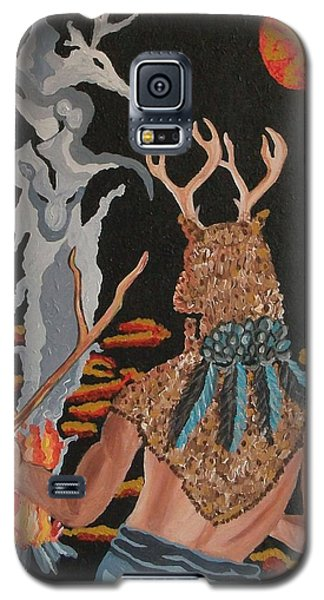 Galaxy S5 Case featuring the painting Honoring by Carolyn Cable
