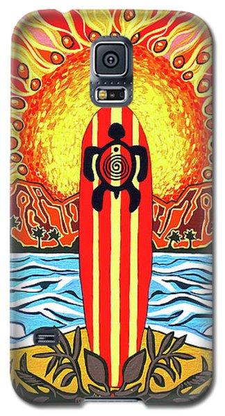 Honu Surf Galaxy S5 Case by Debbie Chamberlin