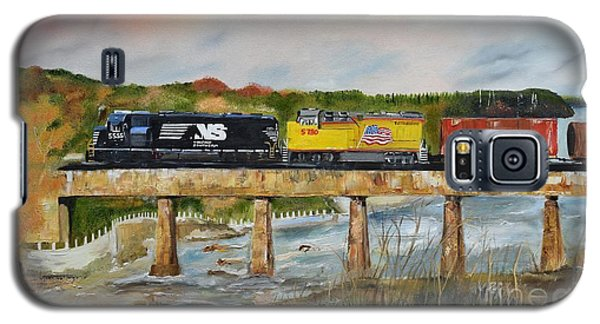 Hooch - Chattahoochee River - Columbus Ga Galaxy S5 Case by Jan Dappen