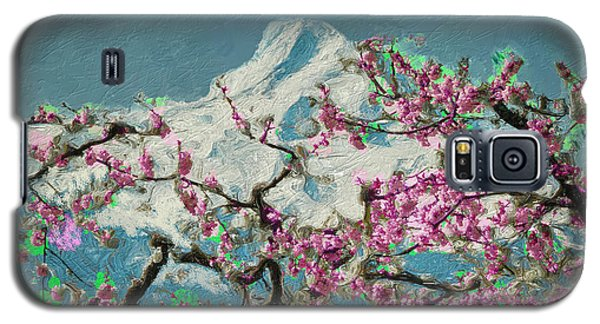 Hood Blossoms Galaxy S5 Case