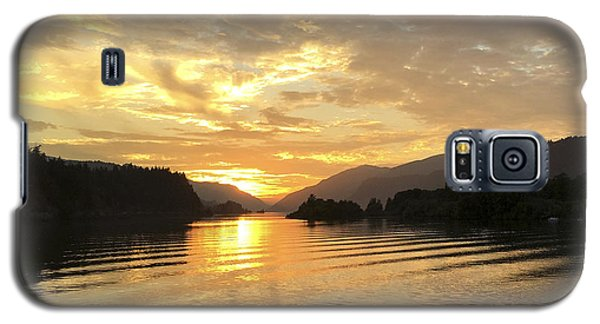 Hood River Golden Sunset Galaxy S5 Case