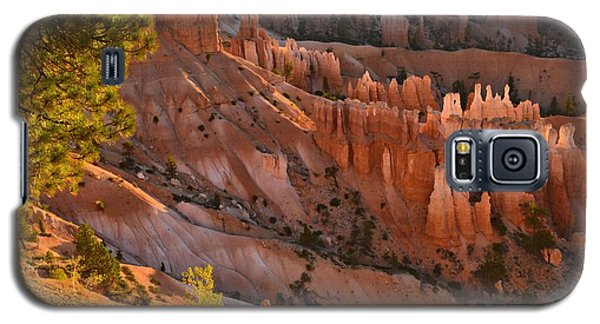 Galaxy S5 Case featuring the photograph Hoodoos At Sunrise by Stephen  Vecchiotti