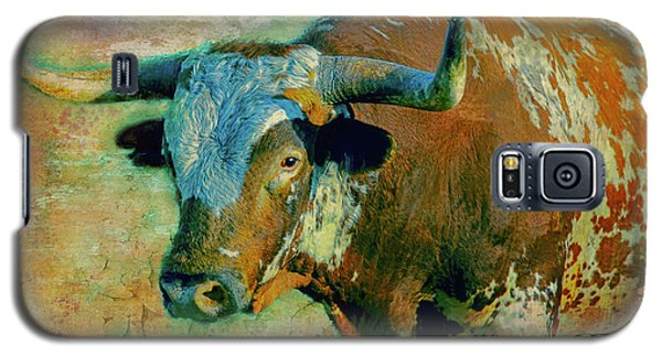 Hook 'em 1 Galaxy S5 Case by Colleen Taylor