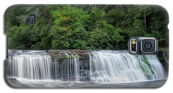 Galaxy S5 Case featuring the photograph Hooker Falls by Steven Richardson