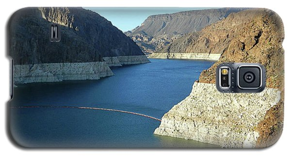 Galaxy S5 Case featuring the photograph Hoover Dam In May by Emmy Marie Vickers