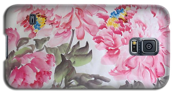 Galaxy S5 Case featuring the painting Hop08012015-692 by Dongling Sun