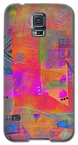 Galaxy S5 Case featuring the mixed media Hope And Dreams by Angela L Walker