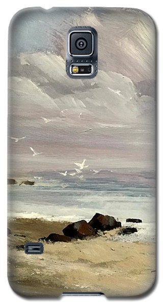 Galaxy S5 Case featuring the painting Hope by Helen Harris