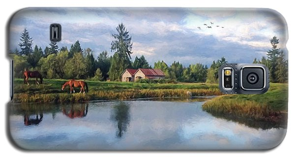 Hope Is Not A Dream - Hope Valley Art Galaxy S5 Case