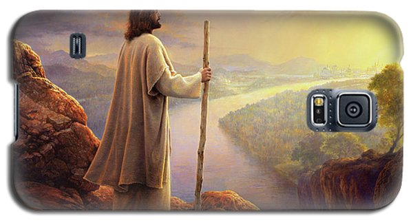 Galaxy S5 Case featuring the painting Hope On The Horizon by Greg Olsen