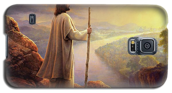 Religious Galaxy S5 Case - Hope On The Horizon by Greg Olsen