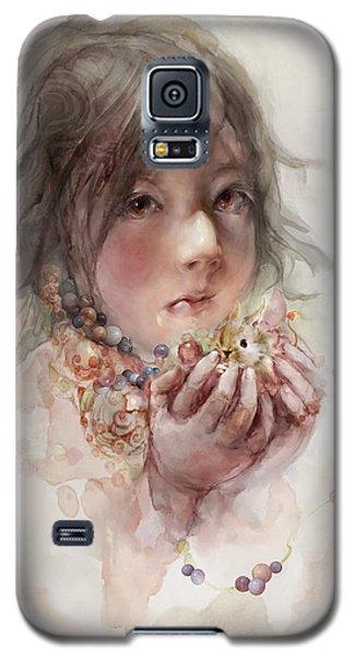 Galaxy S5 Case featuring the digital art Hope by Te Hu