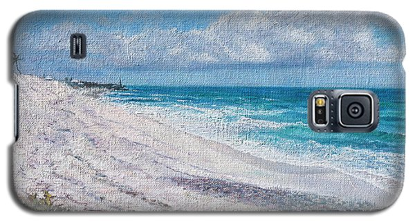 Hope Town Beach Galaxy S5 Case