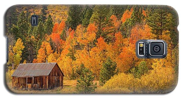 Hope Valley Fall Cabin By Brad Scott Galaxy S5 Case