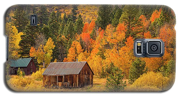 Hope Valley Fall Cabin By Brad Scott Galaxy S5 Case