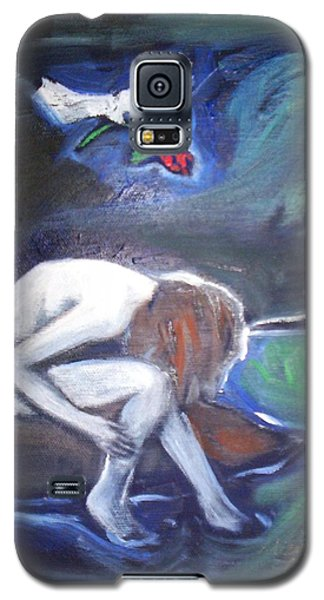 Galaxy S5 Case featuring the painting Hope  by Winsome Gunning