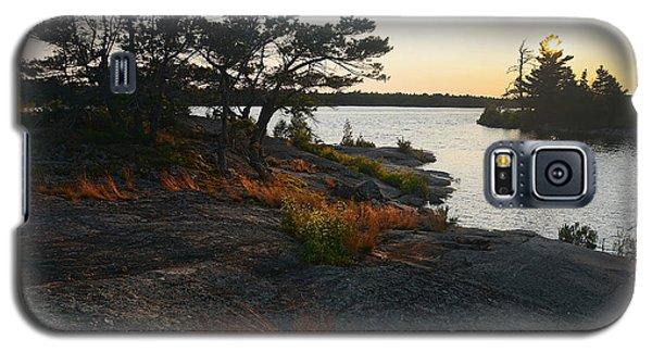Hopewell Bay Island Rock Grass Galaxy S5 Case