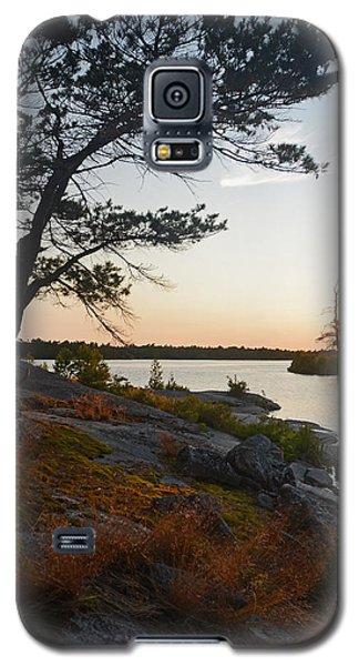 Hopewell Bay Island Wild Grass Sunset-1 Galaxy S5 Case