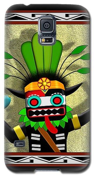 Galaxy S5 Case featuring the digital art Hopi Harvest Kachina by John Wills