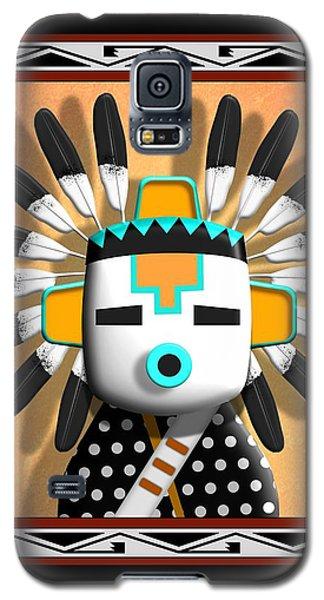 Galaxy S5 Case featuring the digital art Hopi Kachina Mask by John Wills