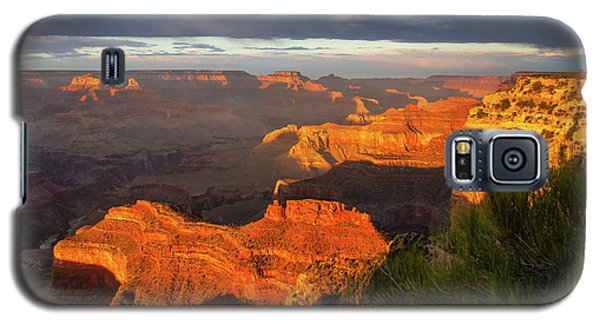 Galaxy S5 Case featuring the photograph Hopi Point Sunset 1 by Arthur Dodd
