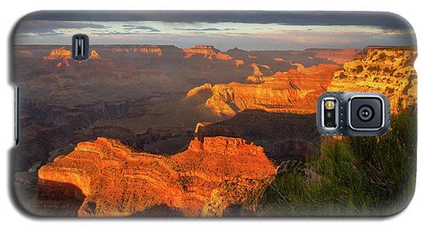 Hopi Point Sunset 1 Galaxy S5 Case by Arthur Dodd