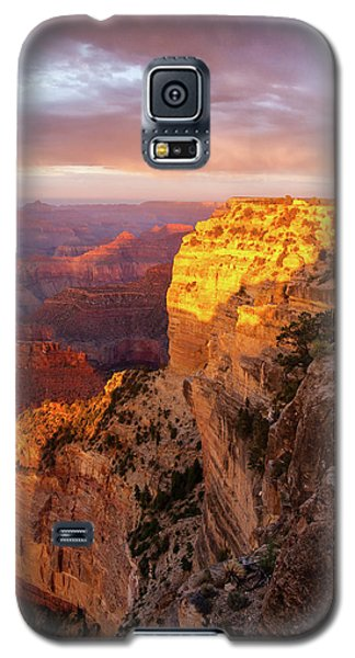 Galaxy S5 Case featuring the photograph Hopi Point Sunset 2 by Arthur Dodd