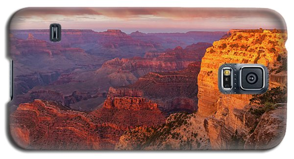 Galaxy S5 Case featuring the photograph Hopi Point Sunset 3 by Arthur Dodd