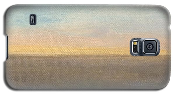 Galaxy S5 Case featuring the painting Horizon Aglow by Kim Nelson