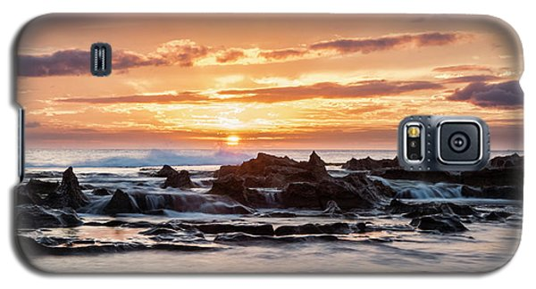 Horizon In Paradise Galaxy S5 Case by Heather Applegate