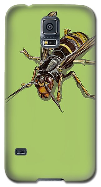 Galaxy S5 Case featuring the painting Hornet by Jude Labuszewski