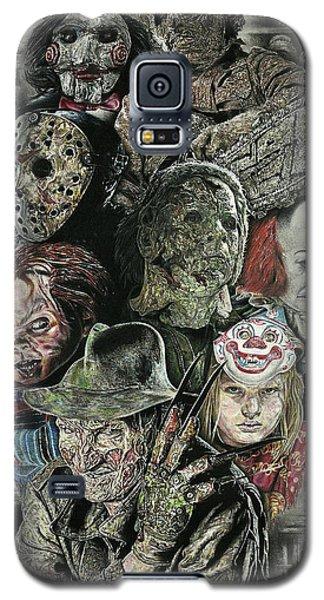 Horror Movie Murderers Galaxy S5 Case