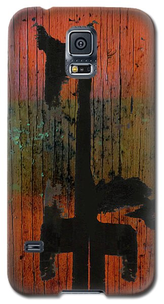 Horse And Barn Abstract  Galaxy S5 Case