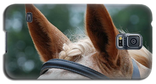Galaxy S5 Case featuring the photograph Horse At Attention by Jennifer Ancker