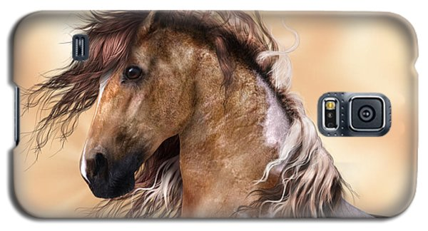 Horse Brown And White Paint Galaxy S5 Case