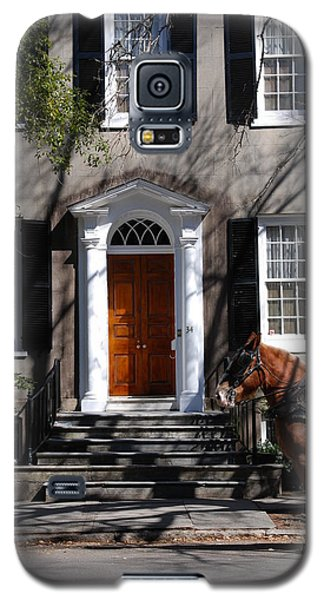 Horse Carriage In Charleston Galaxy S5 Case