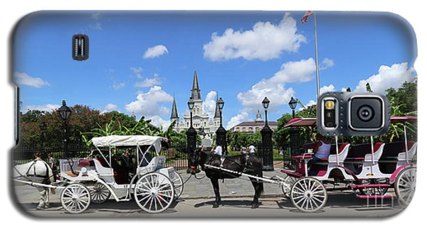 Horse Carriages Galaxy S5 Case by Steven Spak