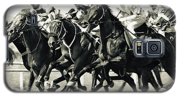 Horse Competition Vi - Horse Race Galaxy S5 Case