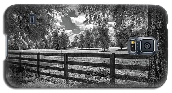 Galaxy S5 Case featuring the photograph Horse Country by Louis Ferreira