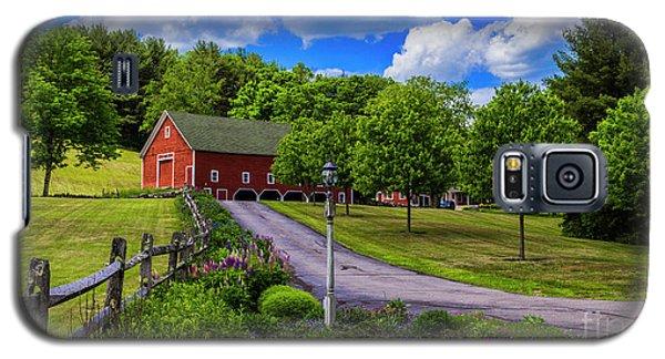 Horse Farm In New Hampshire Galaxy S5 Case
