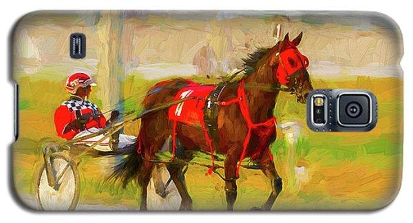 Horse, Harness And Jockey Galaxy S5 Case