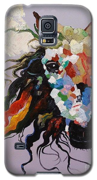 Puzzle Horse Head  Galaxy S5 Case