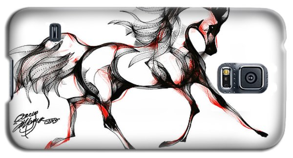 Horse In Extended Trot Galaxy S5 Case by Stacey Mayer