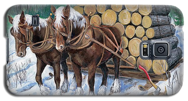 Horse Log Team Galaxy S5 Case